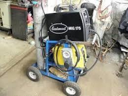 welding cart wheel modification