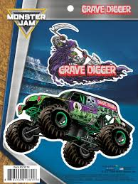 Monster Jam Grave Digger Truck Decals Monster Jam Truck Decals Monster Trucks