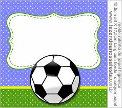 Soccer Free Printable Candy Bar Labels بطاقات Imprimibles