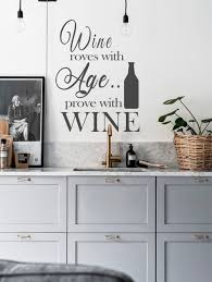 Kitchen Wall Decal Kitchen Quote Decal Wine Wall Quote Decals Kitchen Wall Decor Wine Bottle Sticker Kitchen Wall Decals Wine Wall Decor Kitchen Wall Decor