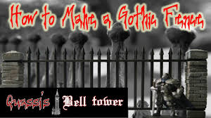 How To Make A Gothic Fence Youtube