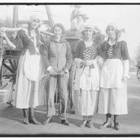FREE MILK FOR FRANCE 'PARADE' MARGARET HARDING, CARTER MILLINKEN, AVIS  HUGHES, FRANCES HAMPSON - PICRYL Public Domain Image