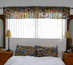 Marvel Retro Comics Superhero Bedroom Sets Table Runners Valance Superheros Bedrooms Kids Adult Bedroom Themes Bedroom Sets Superhero Room