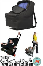 the best car seat travel bag travel
