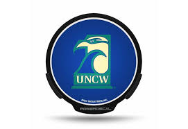 Unc Wilmington Seahawks Car Vehicle Power Decal Wilmington North Carolina Unc