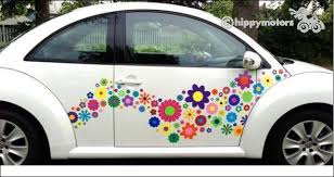 Unique Vinyl Flower Stickers And Vines Add Colour And Life To Vehicles