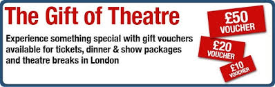 theatre and event ticket vouchers at