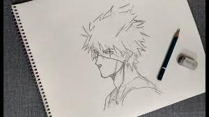 kakashi hatake naruto anime sketch