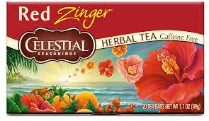 red zinger herbal tea celestial