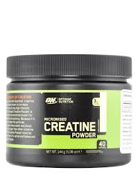 micronised creatine powder by optimum