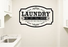 Winston Porter Laundry Wash Dry Fold Repeat Vinyl Wall Decal Wayfair