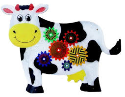 Kids Happy Cow Wall Panels Toddlers Treasures