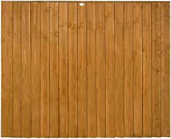Premier Lap Fence Panels Pack Of 3 183 X 152cm Forest Garden Strong Traditional Timber 6ft