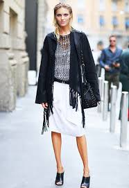 70 ways to wear fringe this fall