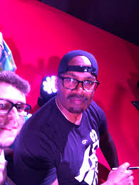 Sharing just a moment of joy, the photo was bad because it was difficult  but I managed to take the photo with Shawn Fonteno, Franklin from Grand  Theft Auto V on the