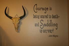 Cowboy Quote John Wayne Vinyl Wall Lettering 20 X 23 With Etsy