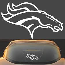 Denver Broncos Decal Sticker Highest Quality Decalexpo Com