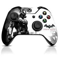 Wb Batman Arkham Knight Grey Bat Official Xbox One Controller Skin Decals Officially Licensed By Xbox Controller Xbox One Controller Xbox One Xbox One Skin
