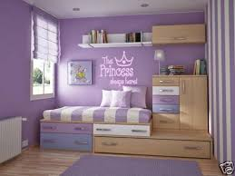Princess Sleeps Here Girls Teen Bedroom Wall Decal Words Lettering Saying 48 For Sale Online