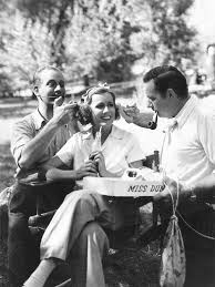 barbarastanwyck: Melvyn Douglas and Richard Boleslawski touching up Irene  Dunne on the set of Theodora Goes W… | Irene dunne, Classic film stars,  Hollywood pictures