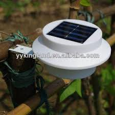 New Solar Garden Fence Post Lighting Solar Wall Lighting Products Portable Solar Lights Drainage Global Sources