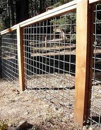 17 Awesome Hog Wire Fence Design Ideas For Your Backyard In 2020 Fence Design Hog Wire Fence Dog Fence