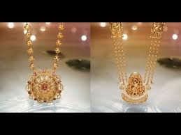 marvellous 22k gold necklace designs by
