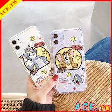 Ốp Lưng Họa Tiết Mèo Và Chuột Mickey Thời Trang Cho Iphone11 Pro Max Xr  Xsmax I7 I8 Plus