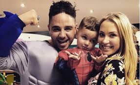 Adam Thomas and his wife Caroline celebrate 10 years together ...