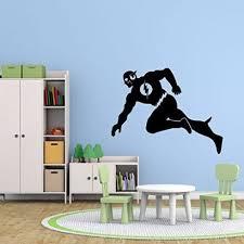 The Flash Wall Decal Dc Comics Superhero Figure Icon Customvinyldecor Com