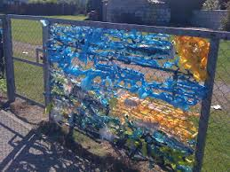 Give Your Ugly Fence A Makeover Creative Star Learning I M A Teacher Get Me Outside Here