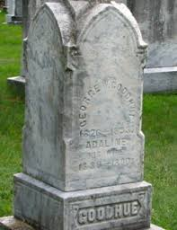 Adeline Fisher Goodhue (1830-1889) - Find A Grave Memorial