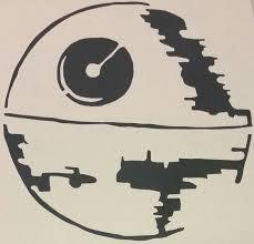 Star Wars Death Star Auto Decal