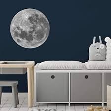 Amazon Com Full Moon Wall Decal Space Wall Decals Perfect For A Creating A Space Themed Room Baby
