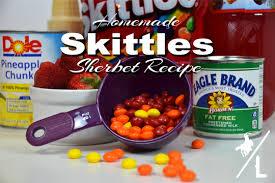 homemade skittles sherbet recipe a