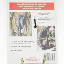 Easy Fence Wire Unroller Western Ranch Supply