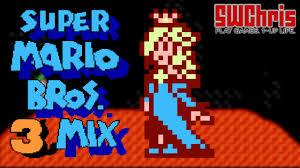 super mario bros 3 mix rom hack world