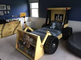 Toddler Truck Bed Https Www Etsy Com Shop Hammertree Construction Theme Bedroom Kid Beds Boy Room Baby Boy Room Themes