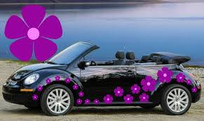 32 Purple Baby Pink Pansy Car Decals Car Graphics Flower Car Stickers For Sale Online