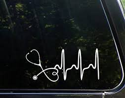 This Would Be An Awesome Inexpensive Gift For Anyone Working In The Medical Field Disclaimer We Are A Pa Bumper Stickers Cute Car Decals Car Decals Vinyl