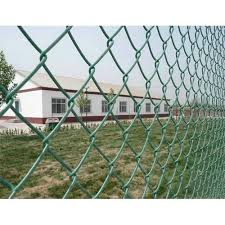 Gi And Pvc 5 To 6 Feet Safety Chain Link Fencing Packaging Type Roll For For Fencing Rs 78 Kilogram Id 21005648912