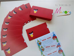 El Rincon De Manora Cumpleanos Angry Birds