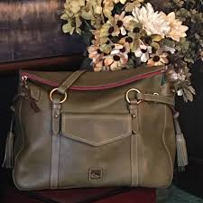 Dooney & Bourke Bags | Trade Rare D B Olive Smith ...
