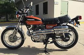 1975 honda cl 360 motorcycles