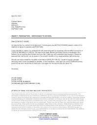 resignation letter going back to
