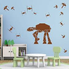 Ik2727 Wall Decal Sticker Star Wars Space Ships Nursery Teenager Stickersforlife
