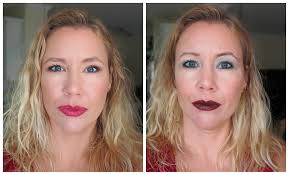 how to apply makeup make you look old