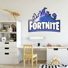 Fortnite Logo Elegant Illustrations Design Decor Wall Art Vinyl Decal Girls Boys Kids Room Bedroom Nursery Kindergarten Fun Home Children Room Decor Wall Art Vinyl Stickers Adhesive Size 18x20 Inch Walmart Com