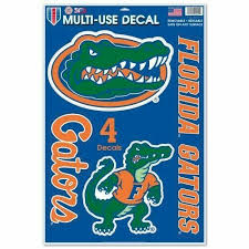 Florida Gators Official Ncaa 11 X17 Multiuse Car Decal By Wincraft 426833 For Sale Online Ebay