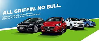 The fully loaded Astra, Corsa, Mokka X Plus and Adam Griffin Editions.